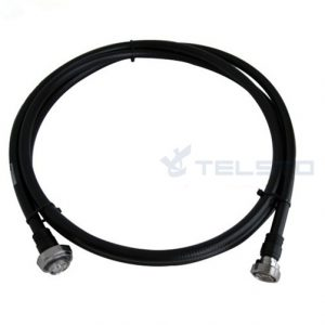 """1/2"""" coax jumper cable assembly with n/din connector"""