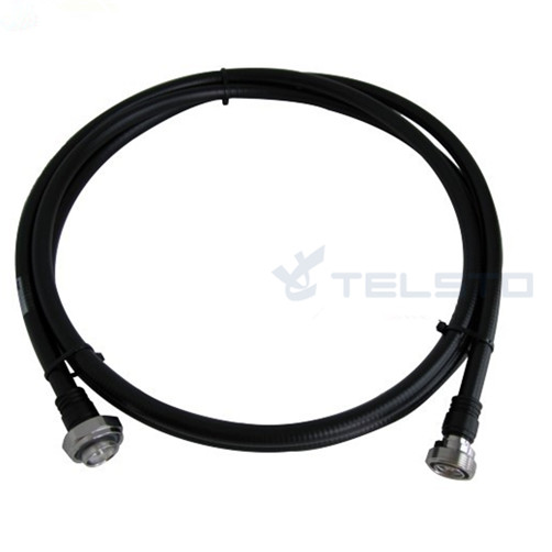 1/2″ coax jumper cable assembly with n/din connector