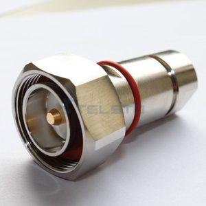 """7 / 16 DIN macho para cabo coaxial 1 / 2 """"conector de preço de fábrica de cabo flexível rf"""