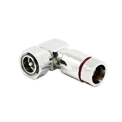 4.3 / 10 MINI DIN Conector RF de Ângulo Reto Masculino Para cabo flexível 1 / 2 ″