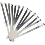 China Manufacturer PVC Coated Stainless Steel Cable Ties Pack Of 100