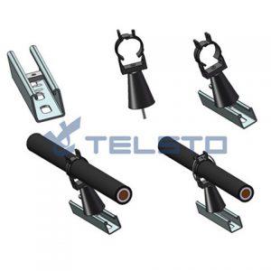 Высококачественный излучающий герметичный кабельный зажим для телекоммуникационной башни