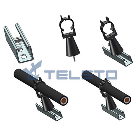 High Quality Radiating Leaky Cable Clamp for Telecom Tower