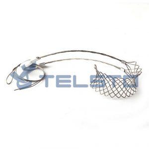 Garra de içamento com cordões para cabos FiberFeed, cabo de elevação para cabo 7 / 8 ″