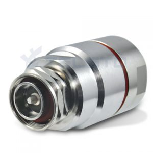 Rf Coaxial 716 Din Male Plug Connector For 12 Foam Feeder Cable