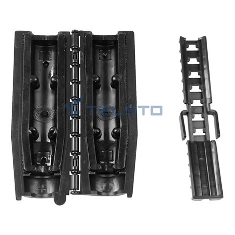 "Chiusura con guarnizione gel per 1 / 2 ""Jumper to Antenna, 4.3-10 / 4.1-9.5 MINI DIN Connector"