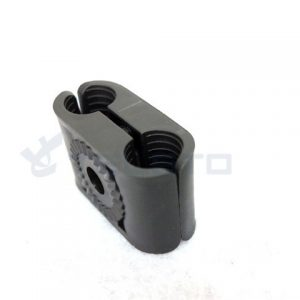 Feeder cable accessories 6way fiber clamp