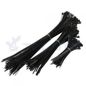 UV black Nylon 66 Cable Tie Zip Tie UV resistance Plastic cable tie