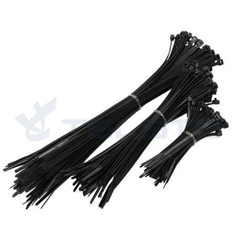 کابل نایلون 66 سیاه و سفید نایلون جعبه جیب زیپ جیب مقاومت کابل UV کابل کراوات کابل