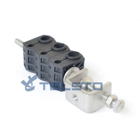 Outdoor Double Holes Type Feeder Power cable Clamp Price