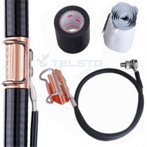 Kit de fivela de anel de cobre / aterramento