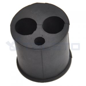 EPDM barrel cushion multi hole hanger insert barrel cushion 1 58