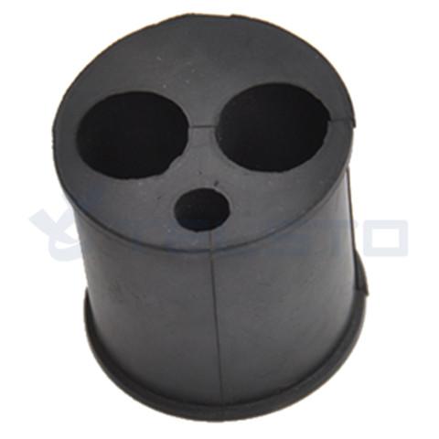 EPDM barrel cushion multi hole hanger insert barrel cushion 1 58