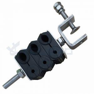 Fabricantes de braçadeira de alimentação braçadeira de cabo de fibra