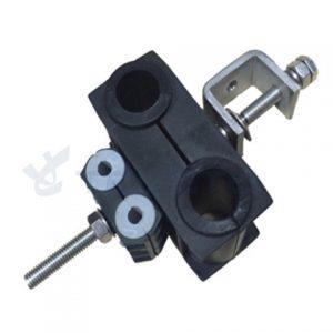 Комбинированный кронштейн с двойным отверстием для кормушек с адаптером из нержавеющей стали