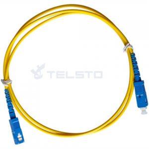 Cabo de remendo frente e verso da fibra óptica do Lc, cabo de fibra óptica de alta qualidade do preço baixo para a solução de rede e a solução do projeto