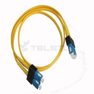 SC / APC-SC / APC marfim branco g657a2 cabo óptico cabo de remendo de fibra óptica