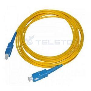 Duplex outdoor fiber optic e2000-fc duplex patch cord cable 8 figure