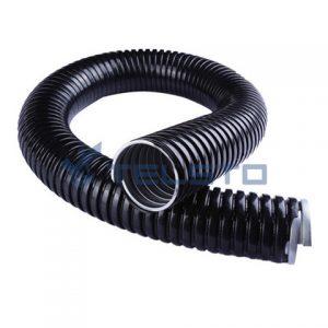Canalização de aço flexível galvanizada revestida em pvc
