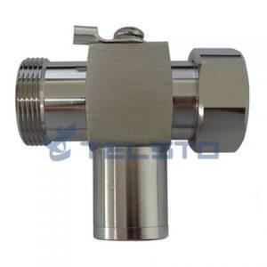 7 / 16 Plug para 7 / 16 Jack RF 1 / 4 comprimento de onda coaxial proteção contra raios
