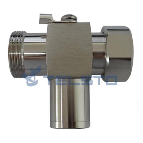 7/16 Plug to 7/16 Jack RF 1/4 wavelength coax lightning protection
