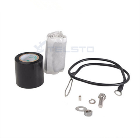 Small Universal Grounding Kit for Coaxial Cable