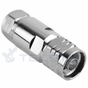 N type RF male connector for 1/2 superflexible coaxial cable