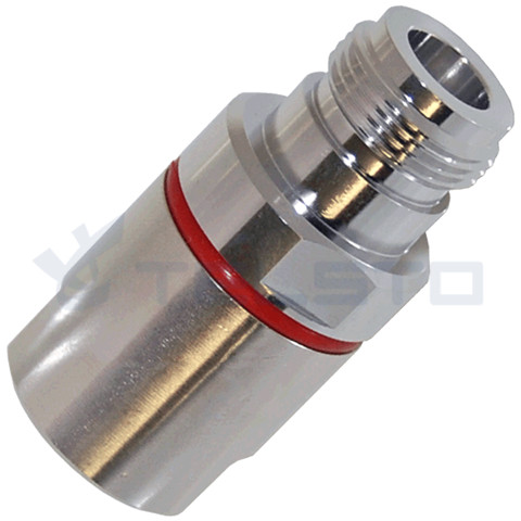 "N type female connector to 1/2"" standard cable"