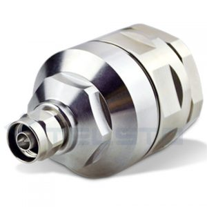 N male/ plug connector for 1-5/8 coaxial cable