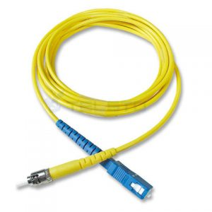 LC APC to LC UPC, SM, Duplex, 2.0MM, 3M, LSZH, 9/125, OS2 Fiber Optic Patch Cord