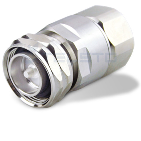 """Rf coaxial connectors Din 7/16 male to 7/8"""" coaxial cable"""