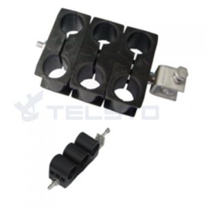 Metal stainless steel 7/8 rf feeder cable clamp